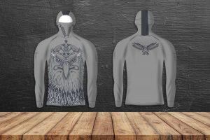Hoodie Eagle Lycra®