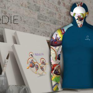Hoodie Steve Ham Design Lycra®