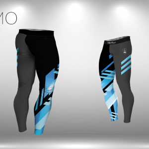 Leggings Extreme Thermo Active Blue Lycra®