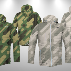 Fly Jacket  Military with Hood #KeepWarm