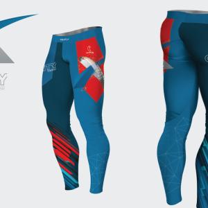 Leggings GraVity Team Lycra®