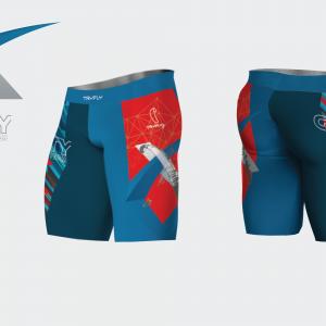 Short Leggings GraVity Team Lycra®