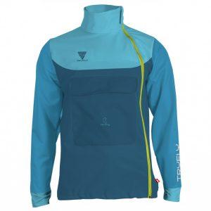 Asymetric Kangoo Softshell Jacket SIZE L Lycra cuffs