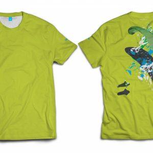 T-Shirt Paragliding – COOLMAX® MALE SIZE L
